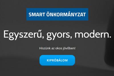 Smart Önkormányzat oldala